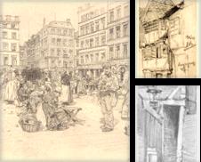 Ansichten Hamburg und Trachten Sammlung erstellt von Antiquariat Heinz Tessin