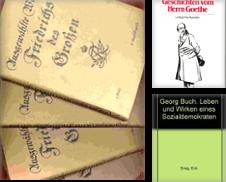 Biographien Sammlung erstellt von Antiquariat Hild