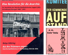 Anarchismus Sammlung erstellt von Antiquariat BM
