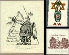 Exlibris Sammlung erstellt von Antiquariat Bernhard Schäfer