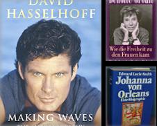 Biographienn Sammlung erstellt von Antiquariat Ottakring 1160 Wien