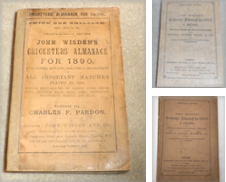 1864 to 1895 Wisdens Curated by Wisden Shop