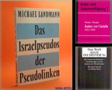 Antisemitismus und Holocaust Proposé par Antiquariat Wirthwein - Die Wortfreunde
