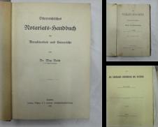 Up1016 Sammlung erstellt von Malota.Buchhandlung F.Malotas Nfg.  GmbH