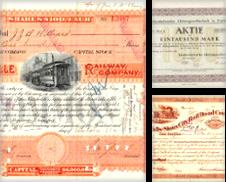 Aktien und Anleihen Sammlung erstellt von Antiquariat Heinz Tessin