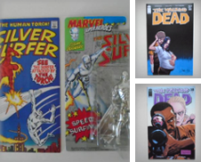 Comic Books and Action Figures on Card Curated by SIGNAL BOOKS & ART