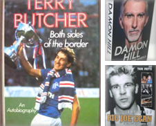 Signed Autobiographies (Sport) Sammlung erstellt von BooksandRecords, IOBA