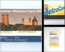 Biglietti e documenti di viaggio Curated by Trans Europ Express