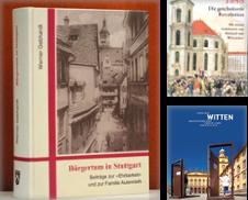 Geschichte Deutschland Orts- Landeskunde Sammlung erstellt von Antiquariat  >Im Autorenregister<