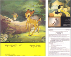 Animation Art Proposé par Heights Catalogues, Books, Comics