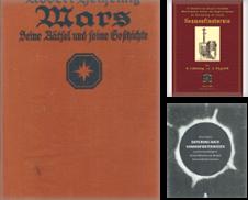 Astronomie Sammlung erstellt von Versandantiquariat Nussbaum