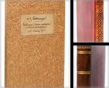 Curiosités Sammlung erstellt von L'intersigne Livres anciens
