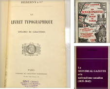 Books On Books Curated by Librairie Michel Morisset