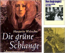 Biographien und Autobiographien Sammlung erstellt von Baldanders-Versandantiquariat