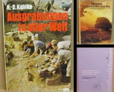Archäologie Sammlung erstellt von Antiquariat Thieme
