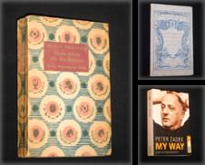 Autobiographien Sammlung erstellt von Antiquariat Fast alles Theater!