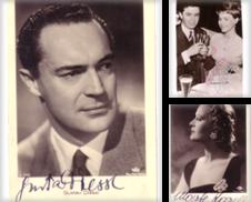 Autographen Sammlung erstellt von Versandantiquariat Georg Koch