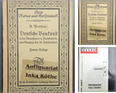 Architektur Curated by Antiquariat Inka Köthe  Inh. Bernd Köthe