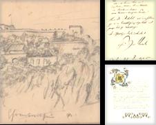 Autographen Sammlung erstellt von Antiquariat Galerie Joy