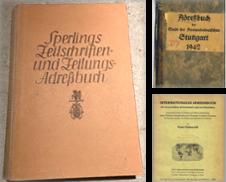 Adressbuch Sammlung erstellt von Buecherstube Eilert