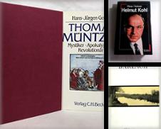 """Biographien Autobiographien Briefe Sammlung erstellt von Antiquariat """"Der Büchergärtner"""""""