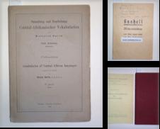 Afrikanische Sprachen & Linguistik Sammlung erstellt von Antiquariat Welwitschia Dr. Andreas Eckl