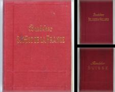 Baedeker, französische Ausgaben Sammlung erstellt von Unterwegs Antiquariat M.-L. Surek-Becker