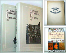 Ägyptologie Sammlung erstellt von Antiquariat Kirchheim