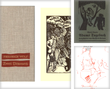 Illustrierte Bücher Sammlung erstellt von Antiquariat Les-art