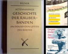 Geschichte (Kulturgeschichte) Sammlung erstellt von Versandantiquariat E.Rosa Neuhäusel