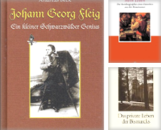 biographien Sammlung erstellt von alt-saarbrücker antiquariat g.w.melling