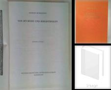 Buchwesen Sammlung erstellt von Ganymed - Wissenschaftliches Antiquariat