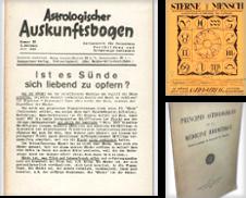 Astrologie Sammlung erstellt von Versandantiquariat Hans-Jürgen Lange