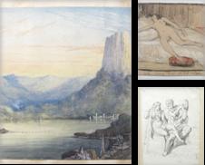 Aquarelle, Zeichnungen Sammlung erstellt von Buch & Kunst Antiquariat Flotow GmbH