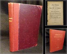 Antisemitismus Sammlung erstellt von Antiquariat Löcker
