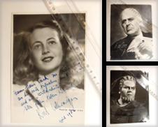 Autogramme Sammlung erstellt von Antiquariat Lastovka GbR