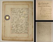 Handschriften erstellt von Versandantiquariat Christine Laist