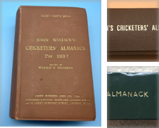 1920 to 1937 Wisdens Curated by Wisden Shop