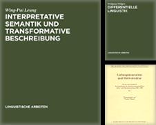 Allgemeine Sprach- und Literaturwissenschaft Sammlung erstellt von Antiquariat Kai Groß