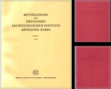 Mitteilungen des Deutschen Archäologischen Instituts (Abteilung Kairo) Sammlung erstellt von Buchhandel Jürgens