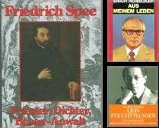 Biographisches A (Z) Sammlung erstellt von Anti-Quariat (Inh. Udo Koch)