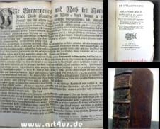 1700-1799 Sammlung erstellt von art4us - Antiquariat
