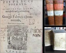Alte Drucke bis 1800 Sammlung erstellt von Antiquariat Seidel & Richter