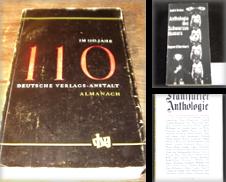 Anthologien Sammlung erstellt von Antiquariat Bebuquin (Alexander Zimmeck)