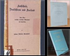 Academica Sammlung erstellt von Antiquariat Kretzer