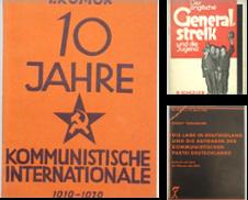 Arbeiterbewegung (1918-45) Sammlung erstellt von Antiquariat Walter Markov