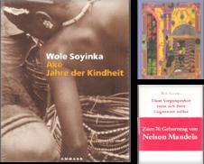 Afrikanische Literatur Sammlung erstellt von Graphem. Kunst- und Buchantiquariat