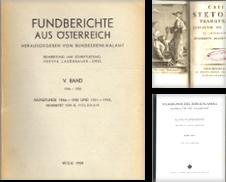 Archäologie und Numismatik Sammlung erstellt von Wiener Antiquariat Ingo Nebehay GmbH