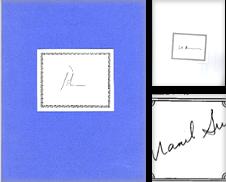 Autographs Authors Sammlung erstellt von ODDS & ENDS BOOKS
