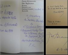 1100Signierte Erstausgaben Sammlung erstellt von Antiquariat Wolfgang Rüger